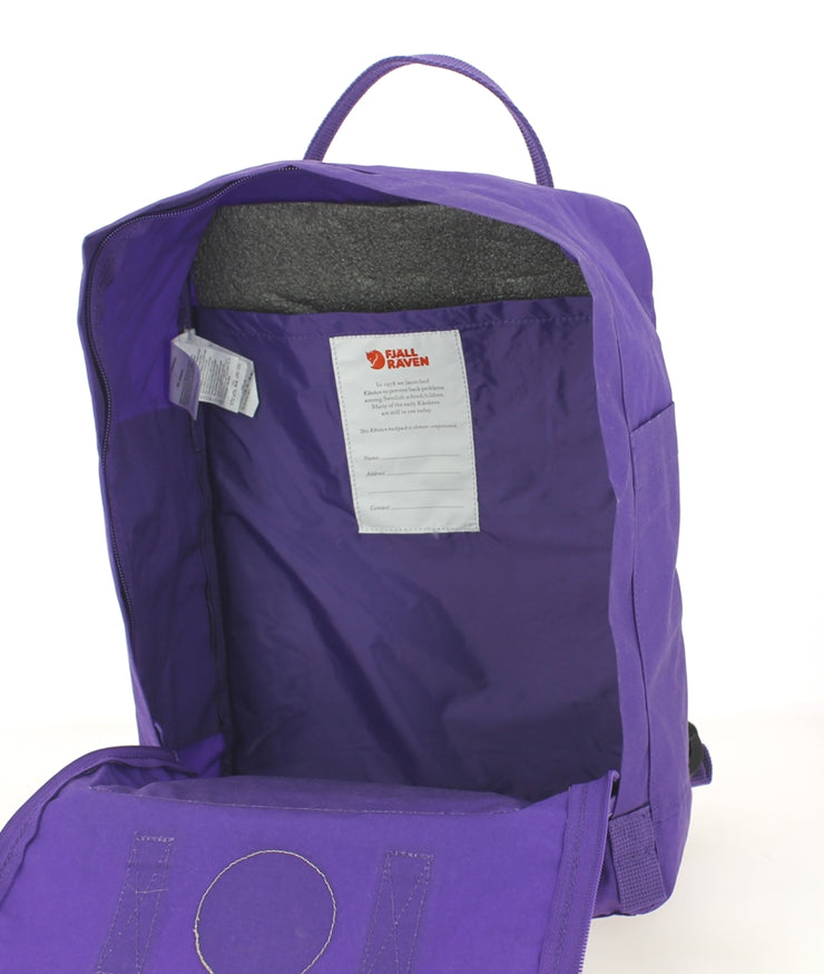 Sac à dos FJALLRAVEN Kanken Purple