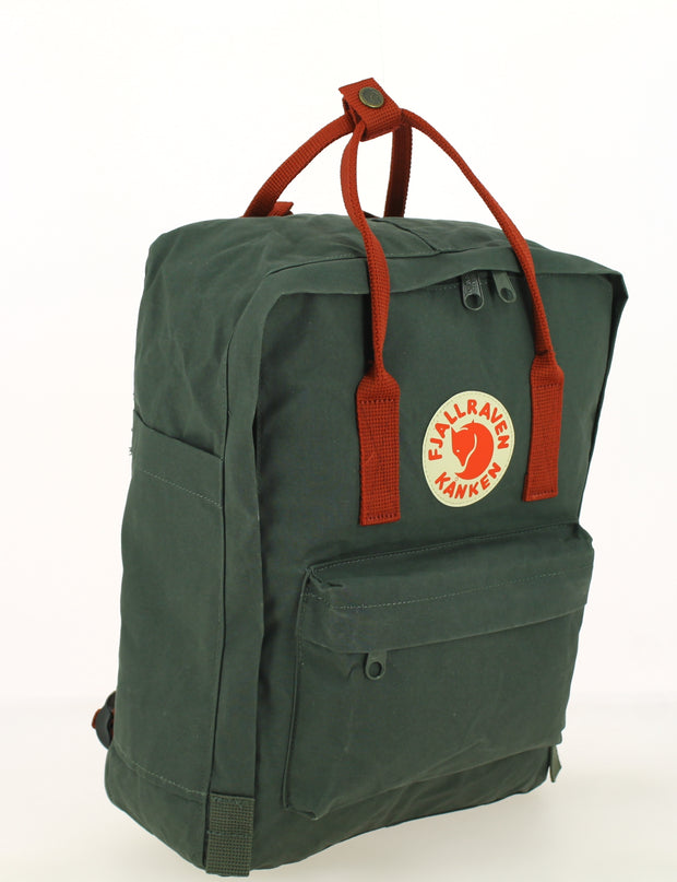 Sac à dos FJALLRAVEN Kanken Forest Green/Ox Red