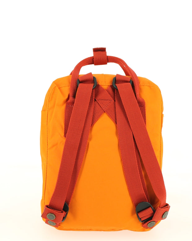 Sac à dos FJALLRAVEN Kanken Mini Burnt Orange/Deep Red
