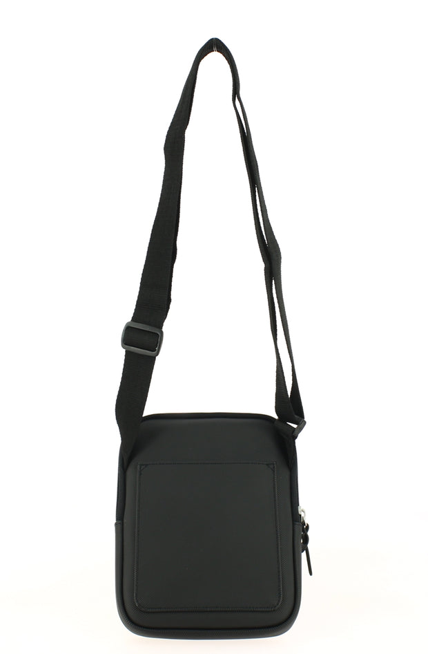 Sacoche LACOSTE S Flat Crossover Bag Black dos