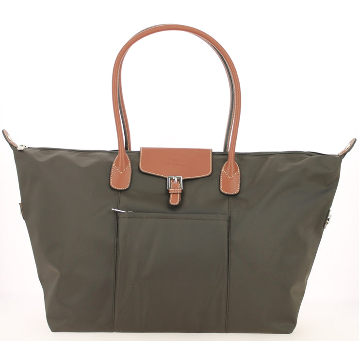 Sac shopping Hexagona-171819-marron-fonce FACE