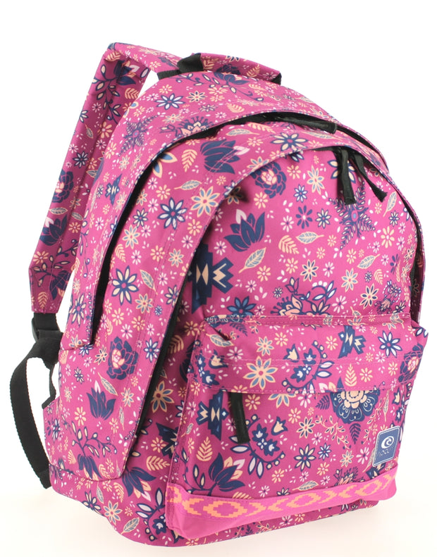 Sac à dos 2 compartiments Ripcurl Mandala Very Berry coté