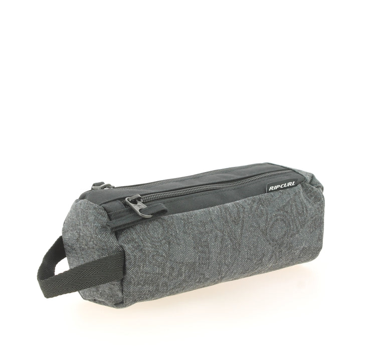 Trousse 2 compartiments Rip Curl Case 2CP Heritage Grey