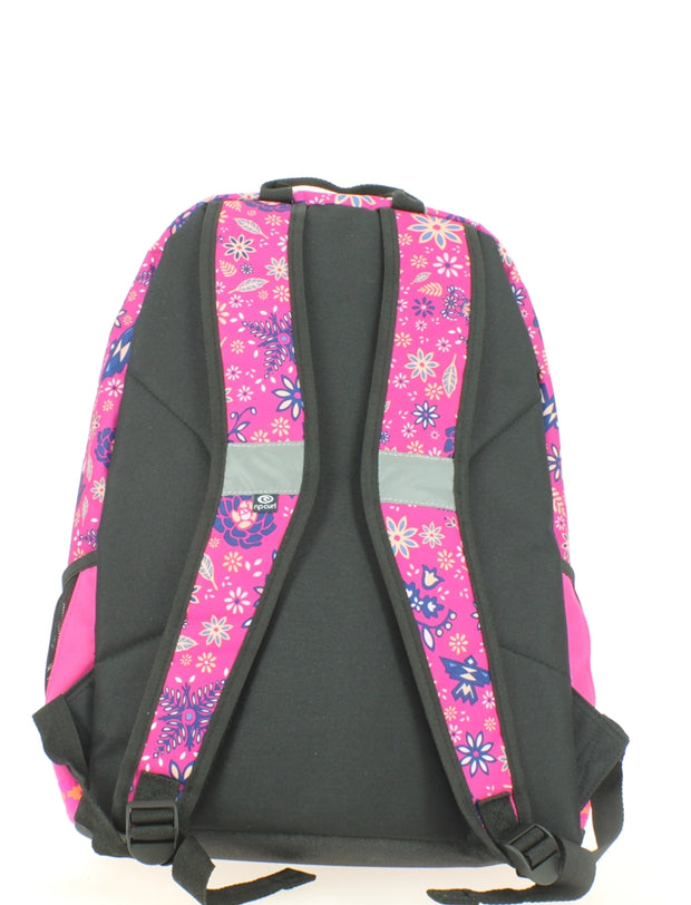 Sac à dos 2 compartiments Ripcurl Mandala Proschool Very Berry dos