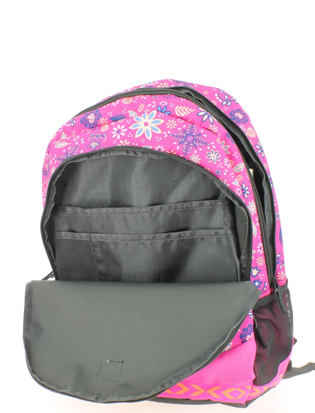 Sac à dos 2 compartiments Ripcurl Mandala Proschool Very Berry ouvert