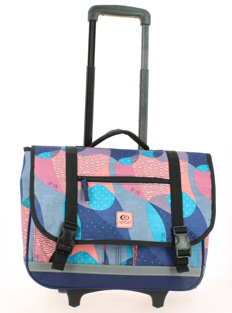 Cartable Rip Curl 40cm Camo Wheely Satchel Bleu face