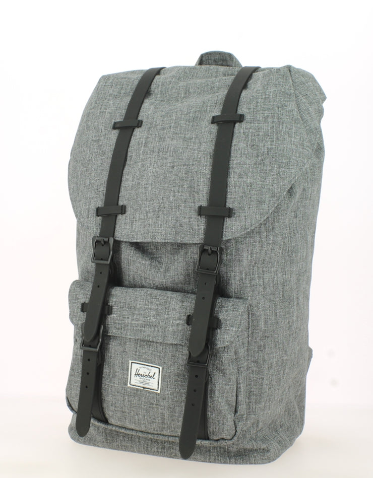 Sac à dos HERSCHEL Little America Raven Crosshatch face