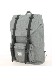 Sac à dos HERSCHEL Little America Mid Volume Raven Crosshatch face