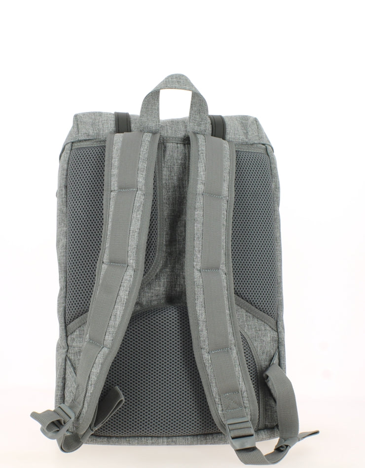 Sac à dos HERSCHEL Little America Mid Volume Raven Crosshatch dos