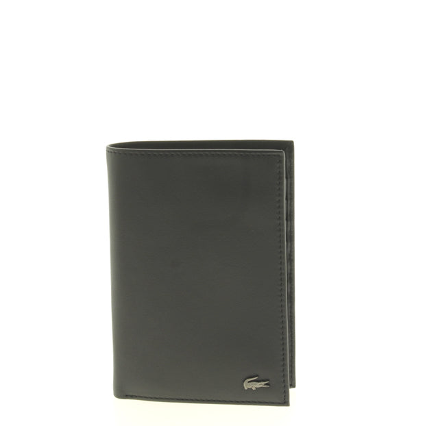 Portefeuille Lacoste L Vertical Billford Black face