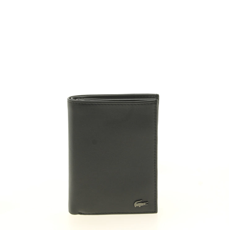 Portefeuille Lacoste M Vertical Billford Black face