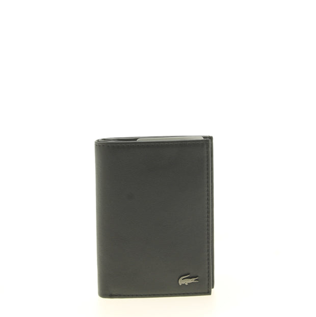 Portefeuille Lacoste S Vertical Billford Black face