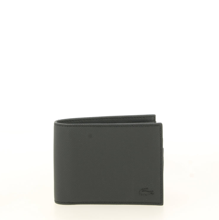 Portefeuille Lacoste S Billfold Black face