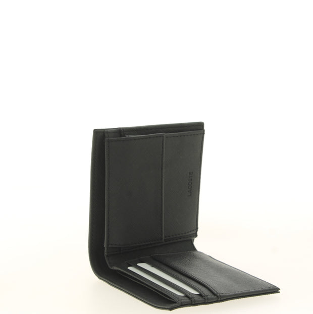Portefeuille Lacoste S Billfold Coin Black