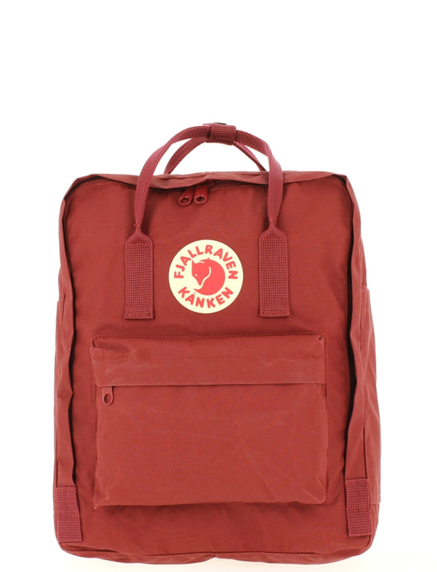 Sac à dos FJALLRAVEN Kanken Ox Red face