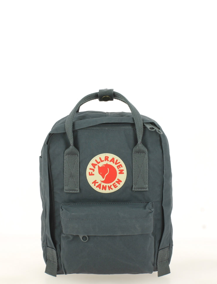 Sac à dos FJALLRAVEN Kanken Mini Graphite face