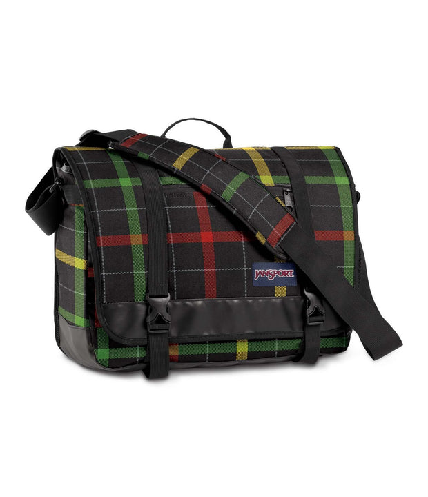 Besace JANSPORT THROTTLE black rasta face