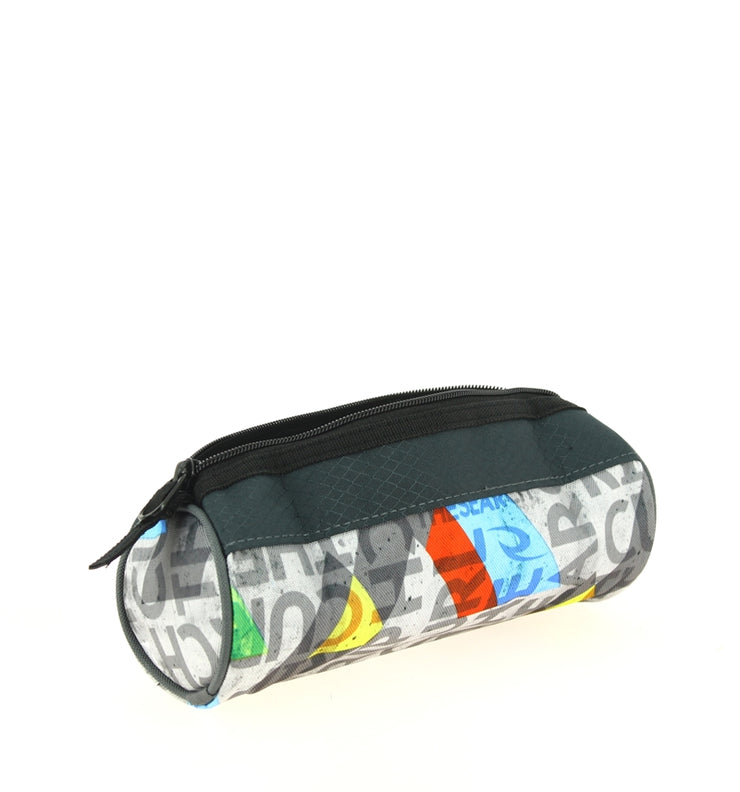 Trousse Rip Curl BUTBM4 0080-GREY Geo Party ouvert