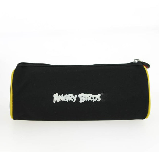 Trousse Ronde Angry Birds Noir DOS