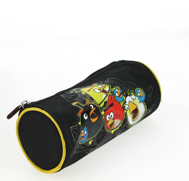 Trousse Ronde Angry Birds Noir COTE