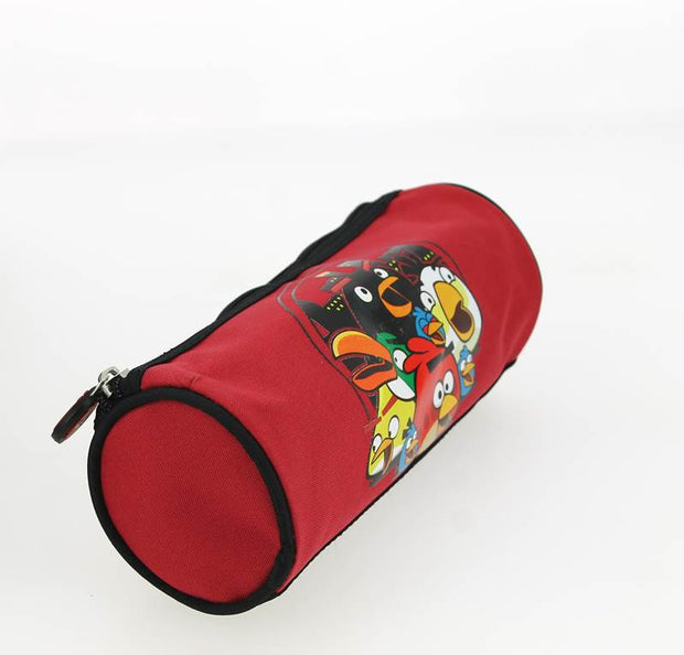 Trousse Ronde Angry Birds Rouge COTE FACE