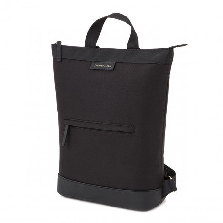 "Sac a dos Umea ""All Black"" KAPTEN AND SON PROFIL"
