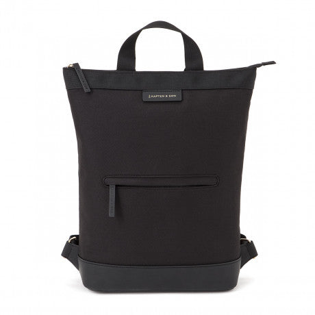 "Sac a dos Umea ""All Black"" KAPTEN AND SON face"