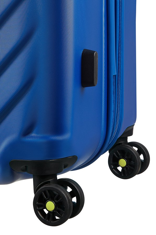 Valise Moyenne American Tourister AIR FORCE ONE Bleu Insig roues