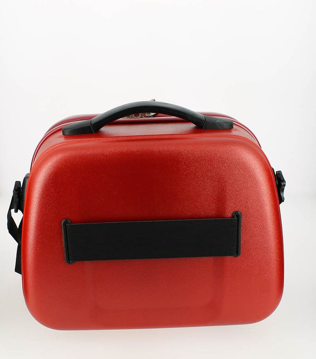 Vanity case Elite Rouge Bordeaux dos