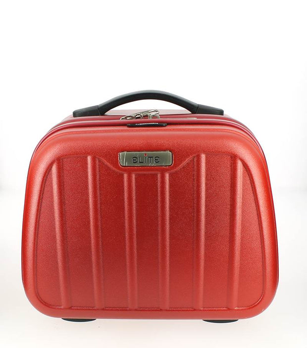 Vanity case Elite Rouge Bordeaux face
