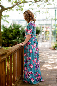Custom Nursing Maxi Dress