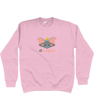Load image into Gallery viewer, Dumbro Sweat - In White / Black or Pink