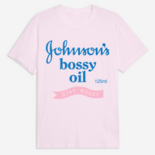 Load image into Gallery viewer, Bossy Oil Tee - Pink