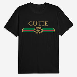 Cutie Belt Tee in Black or White