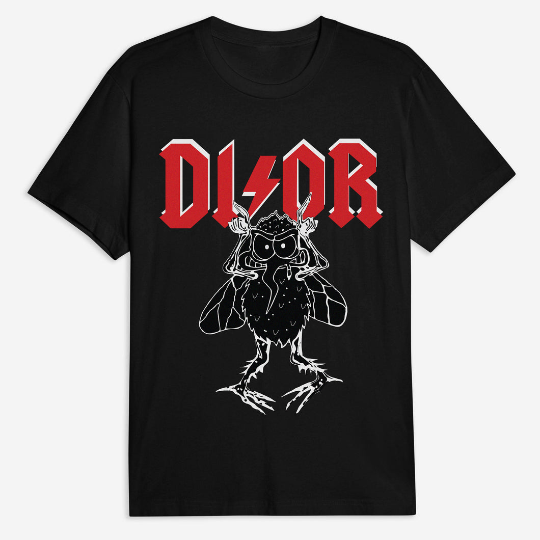 DI OR Tee - Black / White