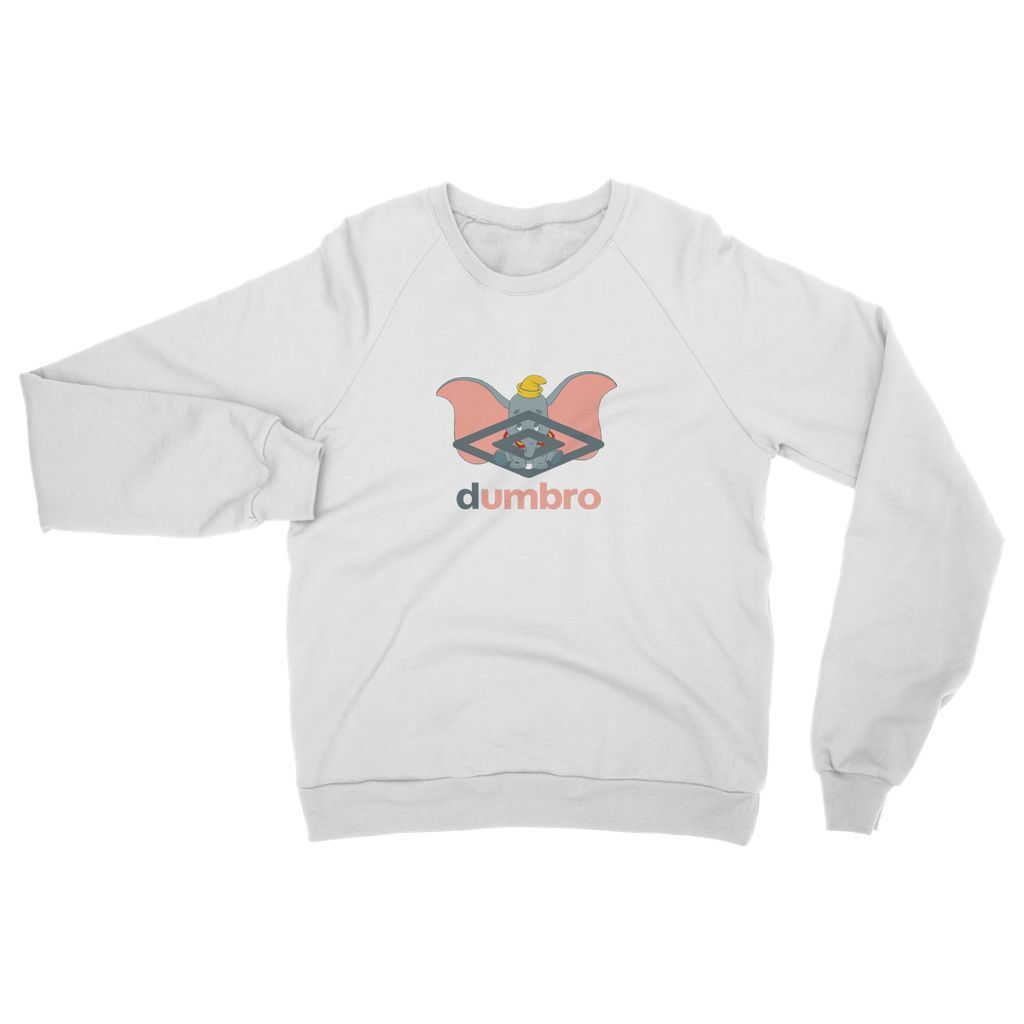 Dumbro Sweat - In White / Black or Pink