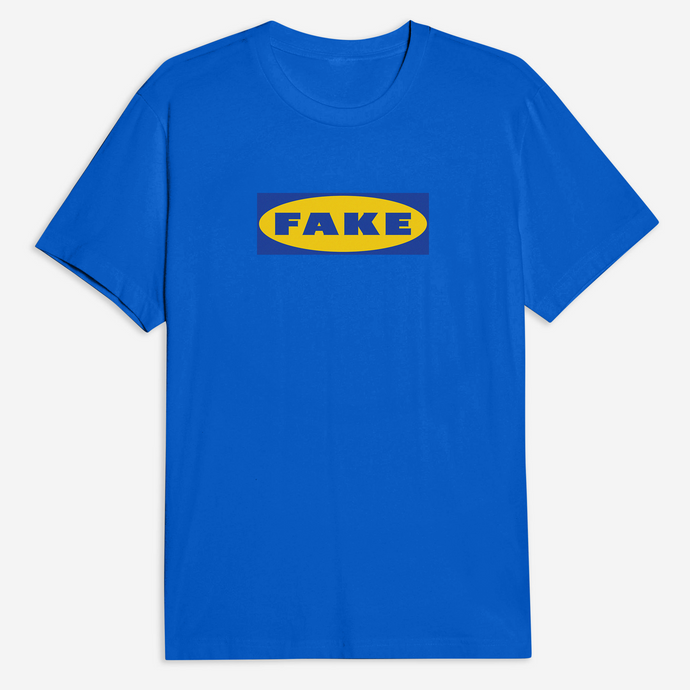 Fake Tee in Blue