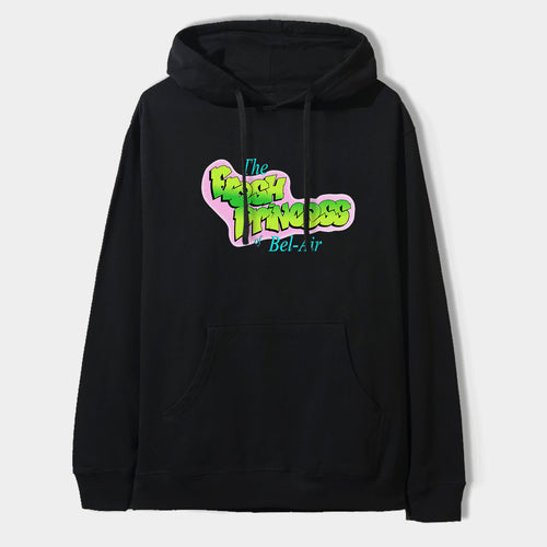 Fresh Princess Hoodie in Black / White