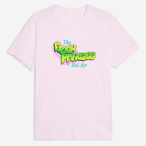Fresh Princess Tee in Black / White / Pink