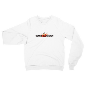 Comme Des Gaston Sweat - White