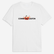 Load image into Gallery viewer, Comme Des Gaston Tee - White