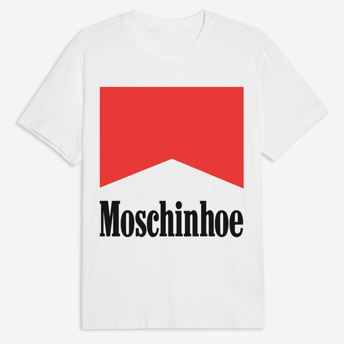 Moschinhoe Tee in White