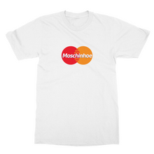 Load image into Gallery viewer, Moschinhoe x Mastercard Tee - White / Black