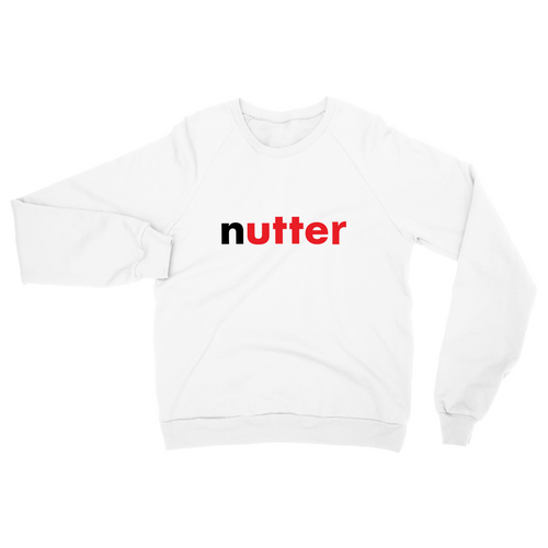 Nutter Sweat - White