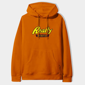 Really Hoodie in Orange