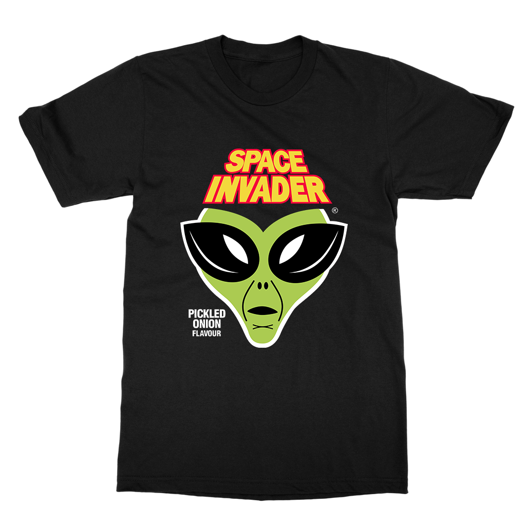Space Invader Tee - Black