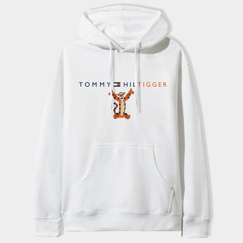 Tommy Hiltigger Hoodie in White