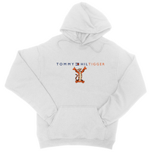 Load image into Gallery viewer, Tommy Hiltigger Hoodie - In White / Pink / Blue or Grey