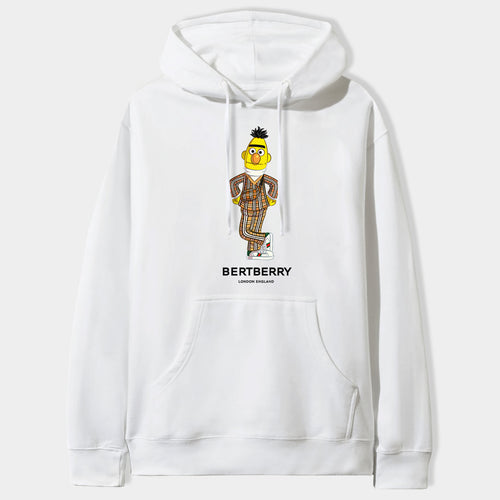 Bertberry Hoodie in White