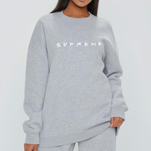 Load image into Gallery viewer, Friends x Supreme Sweat - in Black / Grey